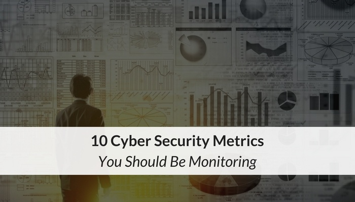 10 Cyber Security Metrics You Should Be Monitoring