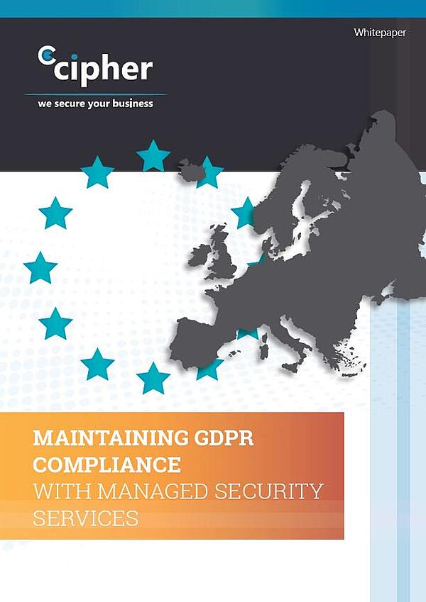 Managed GDPR Services Whitepaper