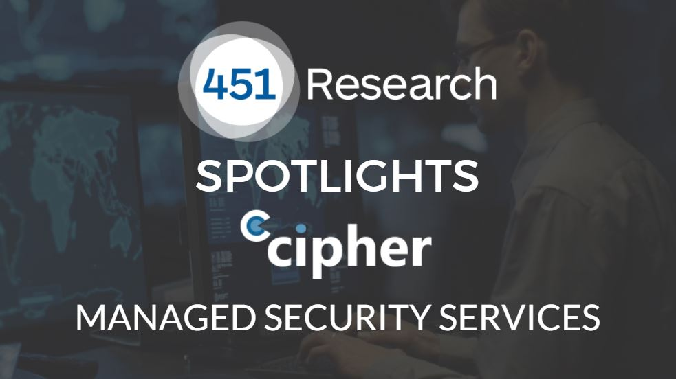 451 Research Spotlights CIPHERs Managed Security Services