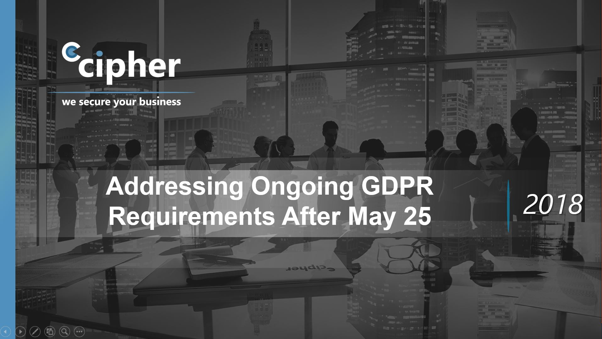 Addressing Ongoing GDPR Requirements