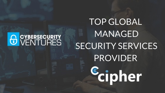 Cybersecurity Ventures Place CIPHER on List of Top MSSPs
